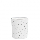 Becher Mug *Little Dots & Heart* black