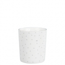 Becher Mug *Little Dots & Heart* grey