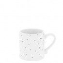 Espressotasse *Little Dots & Heart* grey