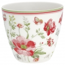 Latte Cup *Meadow* white