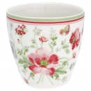 Latte Cup Mini *Meadow* white