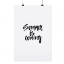 Poster *Summer is coming* A4