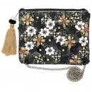 Clutch *Floral* pale pink