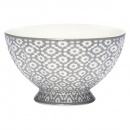 French Bowl *Jasmina* warm grey M