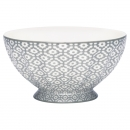 French Bowl *Jasmina* warm grey XL